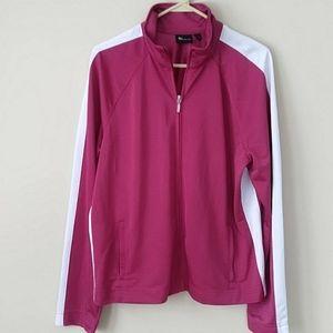 Tek Gear Lightweight Magenta Athletic Jacket Sz XL